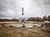 Россия. Город-герой Мурманск. World War II Memorial. Sredniy Peninsula. Murmansk region. Russia. Фото andrei-anpo - Depositphotos