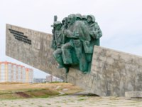 Новороссийск. Мемориал Малая земля. Memorial Small Earth opened on 16 September 1982. Novorossiysk, Krasnodar Krai, Russia. Фото oknebulog-Depositphotos