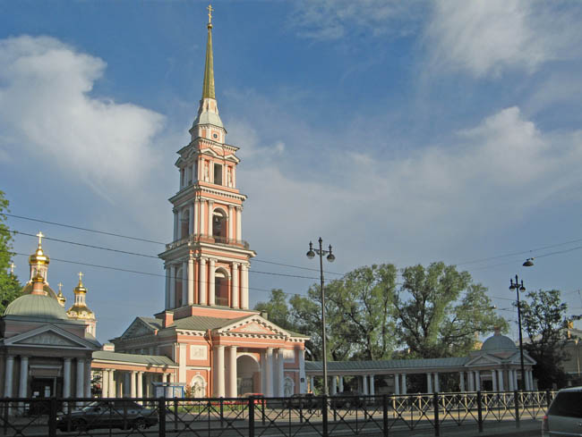 Россия. Санкт-Петербург. Крестовоздвиженский казачий собор. Holy Cross Krestovozdvijensky Cathedral SPb. Фото Екатерина Борисова - commons.wikimedia.org