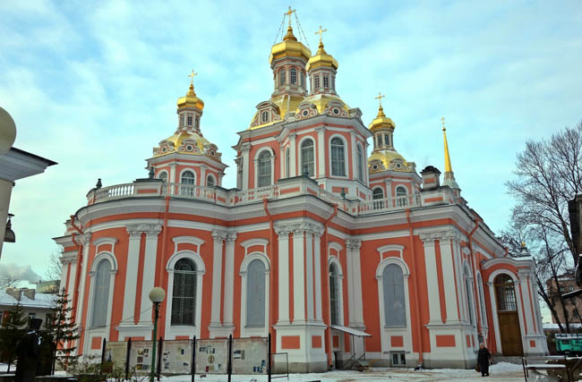 Россия. Санкт-Петербург. Крестовоздвиженский казачий собор. Holy Cross Krestovozdvijensky Cathedral Saint Petersburg. Фото Тулип - www.commons.wikimedia.org