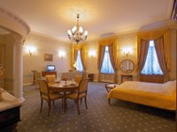 Россия. Санкт-Петербург. Интерьер Талион Империал отеля. Taleon Imperial Hotel St. Petersburg. Spa Suite
