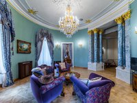 Россия. Санкт-Петербург. Интерьер Талион Империал отеля. Taleon Imperial Hotel St. Petersburg. Emperor Suite Living Room