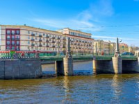 Россия. Санкт-Петербург. Крюков канал. The Krukov Bridge, located on the intersection of Krukov and Griboedov Canals in St Petersburg. Фото efesenko - Deposits