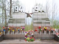 Россия. Город-герой Ленинград. View of war memorial on Sinyavino Heights, Leningrad Oblast, Russia. Фото konstsem - Depositphotos