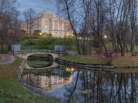 The palace and park ensemble of Pavlovsk, created in the heyday of Russian classicism of the late XVIII - early XIX centuries. Фото stan0207 - Depositphotos