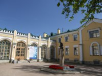 Пригороды Санкт-Петербурга. Стрельна. Palace of Prince Lvov in the village of Strelna, St. Petersburg. Фото Nanabad - Depositphotos