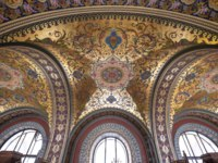 Interior of Museum of Baron Stieglitz's State Academy of Monumental and Industrial Arts and Design in St Petersburg. Russia. Фото mitzo_bs - Depositphotos