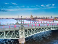 Россия. Санкт-Петербург. Троицкий мост. Trinity Bridge in Saint Petersburg. Russia. Фото GrinPhoto - Depositphotos