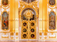 State Hermitage, the Grand Church of the Winter Palace. Hermitage is one of the largest and oldest museums of art and culture in the world. Фото gilmanshin-Deposi