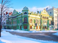 Россия. Татарстан. Казань. Administration of Muslims of Kazan. Фото HelgaTor - Depositphotos