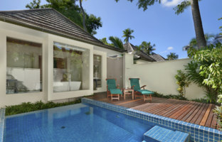 Клуб путешествий Павла Аксенова. Hilton Seychelles Labriz Resort.Beachfront Villa with Plunge Pool