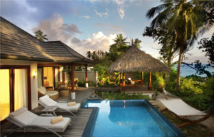 Клуб путешествий Павла Аксенова. Hilton Seychelles Labriz Resort. Deluxe Beachfront Pool Villa