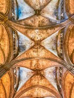 Испания. Каталония. Барселона. Interior of the Barcelona Cathedral, Catalonia, Spain. Фото marcorubino - Depositphotos