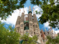 Барселона. Храм Святого Семейства (арх. А.Гауди). Sagrada Familia. Barcelona, Spain. Фото johnnym26 - Depositphotos