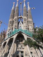 Барселона. Храм Святого Семейства (арх. А.Гауди). Sagrada Familia. Barcelona, Spain. Фото Ivantagan - Depositphotos