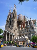 Барселона. Храм Святого Семейства (арх. А.Гауди). Sagrada Familia. Barcelona, Spain. Фото marina99 - Depositphotos