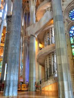 Барселона. Храм Святого Семейства (арх. А.Гауди). Sagrada Familia. Barcelona, Spain.Фото Wallace Weeks-Depositphotos