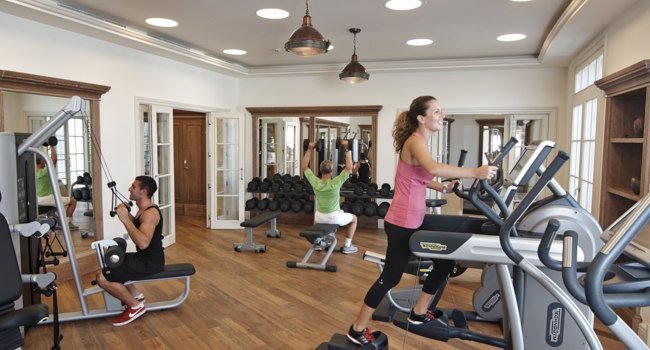 Клуб путешествий Павла Аксенова. Сент-Винсент и Гренадины. Canouan Island. The Pink Sands Club. Fitness Studio