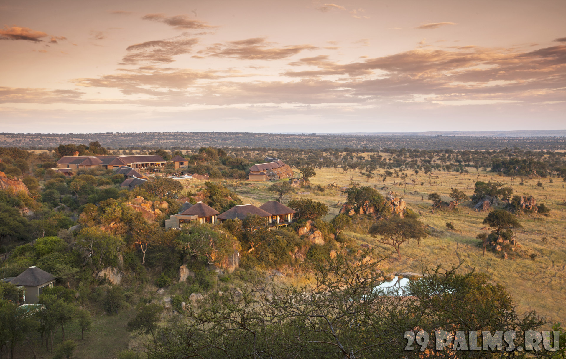 Клуб путешествий Павла Аксенова. Танзания. Four Seasons Safari Lodge Serengeti. Overview of the resort