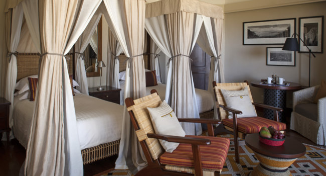 Клуб путешествий Павла Аксенова. Танзания. Four Seasons Safari Lodge Serengeti. Savannah Room (twin)