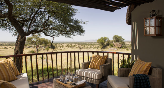Клуб путешествий Павла Аксенова. Танзания. Four Seasons Safari Lodge Serengeti. Savannah Room Terrace