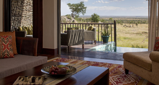 Клуб путешествий Павла Аксенова. Танзания. Four Seasons Safari Lodge Serengeti. Terrace Suite