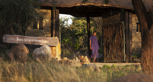 Клуб путешествий Павла Аксенова. Танзания. Four Seasons Safari Lodge Serengeti. Entrance