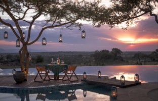 Клуб путешествий Павла Аксенова. Танзания. Four Seasons Safari Lodge Serengeti. Private Dining at the pool