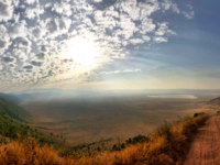 Клуб путешествий Павла Аксенова. Танзания. Panorama of Ngorongoro Crater. Фото tr3gi - Depositphotos
