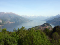 Италия. Озеро Комо. Panorama of Bellagio, lake Como, Italy. Фото Sergey Mostovoy Depositphotos