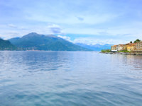 Италия. Озеро Комо. Bellagio town, Como Lake district landscape. Italy, Europe. Фото StevanZZ Depositphotos