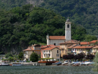 Италия. Озеро Маджоре. Village at the Lago Maggiore. Фото Ivonne Wierink Depositphotos