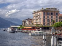 Италия. Озеро Комо. Белладжио. Bellagio lake view at Como Italy. Фото anskuw Depositphotos