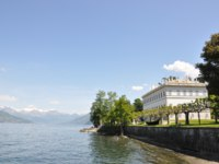 Италия. Озеро Комо. Вилла Мельци. Villa Melzi in Bellagio at the famous Italian lake Como. Фото Alexander Chaikin - Depositphotos