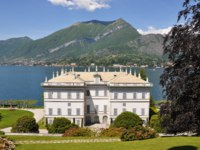 Италия. Озеро Комо.Белладжио.Villa Melzi in Bellagio town at the famous Italian lake Como. Фото Alexander Chaikin - Depositphotos