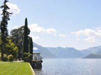 Италия. Озеро Комо. Park of Villa Melzi in Bellagio at the famous Italian lake Como. Фото  Alexander Chaikin - Depositphotos