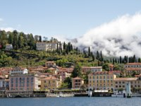 Италия. Озеро Комо. View of Bellagio village on lake Como. Фото Malgorzata Kistryn - Depositphotos