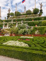 Италия. Озеро Маджоре. Baroque garden of Isola Bella, is one of the Borromean Islands of Lake Maggiore. Фото vova130555@gmail.com - Depos
