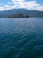 Италия. Озеро Маджоре. San Giulio Island. Фото stepunk - Depositphotos