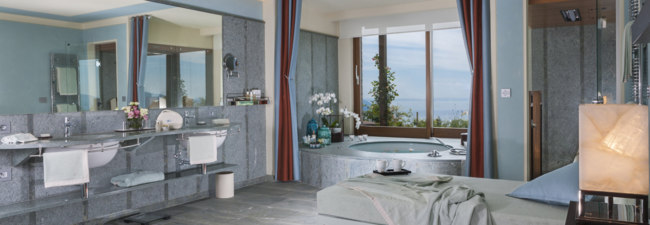 Италия. Озеро Гарда. Lefay Resort & Spa Lago di Garda. Royal Pool & SPA Suite