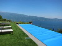 Италия. Озеро Гарда. Lefay Resort & Spa Lago di Garda. Royal Pool & SPA Suite. Фото Павла Аксенова
