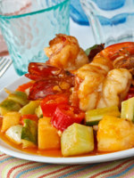 Thai Food,Sweet and Sour Shrimp. Фото Piyachok - Depositphotos