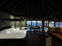 Мальдивы. Gili Lankanfushi Resort, Maldives. Crusoe Residence. Bedroom