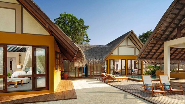Клуб путешествий Павла Аксенова. Мальдивы. Four Seasons Resort Maldives at Landaa Giraavaru. Family beach bungalow 2-bedroom
