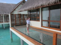 Мальдивы. Four Seasons Resort Maldives at Landaa Giraavaru. Water villa. Фото Павла Аксенова