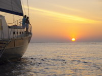 Мальдивы. Anantara Kihavah Villas. Private Sunset Cruise on Board Ocean Whisperer
