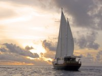 Мальдивы. Anantara Kihavah Villas. Sunset Cruise on Board Ocean Whisperer