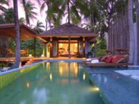 Мальдивы. Anantara Kihavah Villas. Beach Pool Villa. Swimming Pool