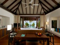 Мальдивы. Anantara Kihavah Villas. Beach Pool Villa interior