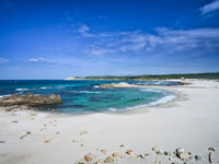 Италия. Сардиния. White northern beach in Gallura, Sardinia. Фото Daniele Carotenuto - Depositphotos